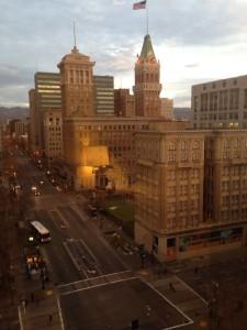 View from Marriott's 10th floor